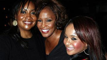 Photo – Patricia Houston, Whitney Houston and Bobbi Kristina