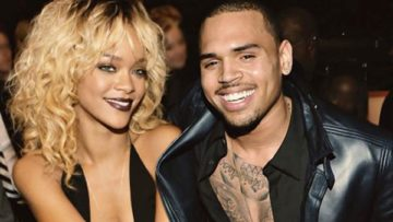 Photo – Rihanna and Chris Brown all smiles at party