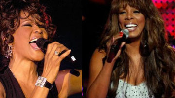 Photo – Whitney Houston and Donna Summer