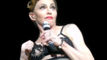 Picture – Madonna perform in Turkey MDNA Tour Human Nature