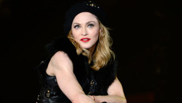 Photo – Madonna performing during opening of MDNA tour