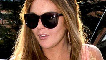 Photo of Lindsay Lohan at Hotel
