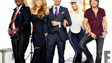 American Idol Season 12 with Mariah Carey, Nicki Minaj, Randy Jackson, Keith Urban and Host Ryan Seacrest