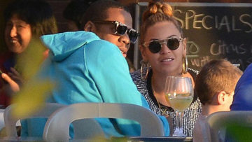 Beyonce wears Obama earrings while on date with husband Jay-Z