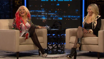 Christina Aguilera on Chelsea Lately TV Show