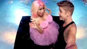 Justin Bieber and Nicki Minaj – Beauty And A Beat music video