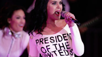 Photo – Katy Perry Performs For President Barack Obama Las Vegas Rally