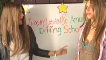 Photo – Lindsay Lohan and Amanda Bynes Drivers Ed Parody