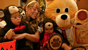 Photo – Mariah Carey, Nick Cannon, Moroccan and Monroe Halloween Outfit