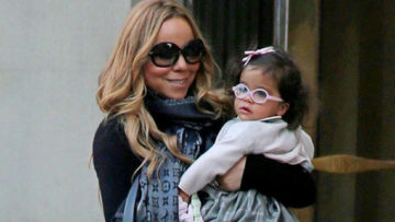 Photo – Mariah Carey and Monroe Cannon NYC TriBeCa