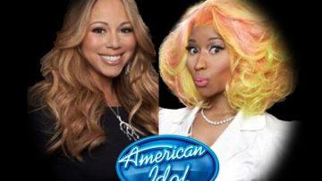 Photo – Mariah Carey and Nicki Minaj