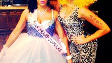 Photo – Miley Cyrus dresses a Nicki Minaj for Halloween
