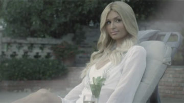 Paris Hilton in Kim Jang Hoon music video Nothing