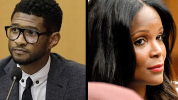 Photo of Usher and Tameka Foster Raymond