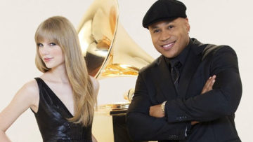 Photo – Taylor Swift and LL Cool J for The GRAMMY Nominations Concert Live