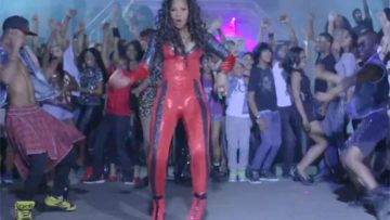 Photo – Trina Braxton music video Party or Go Home