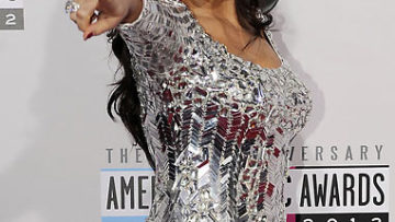 Bleona at 2012 American Music Awards