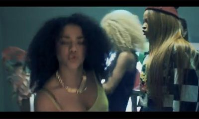 Neon Jungle in the music video Trouble