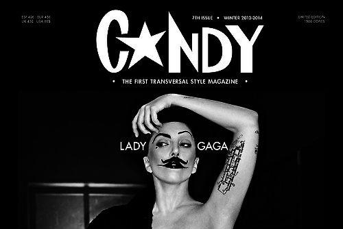 Lady GaGa Candy Magazine Cover