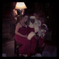Mariah and Nick Cannon Christmas 2013