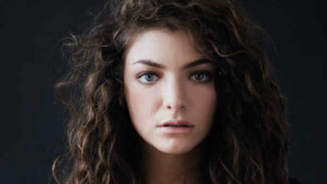 Singer Lorde headshot