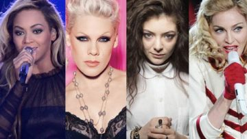 56th Grammy Awards – Beyonce, Pink, Lorde, Madonna