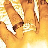 Bobbi Kristina Brown and Nick Gordon wedding rings