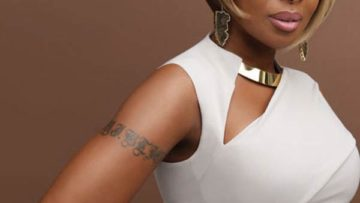 R&B singer Mary J Blige