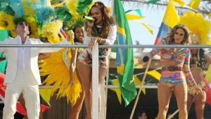 Jennifer Lopez We Are One music video shoot