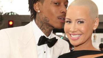 Amber Rose Wiz Khalifa files divorce