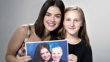 Lucy Hale teams up with St Jude